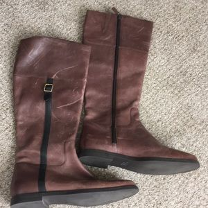 Cole Haan Brown Riding Boots